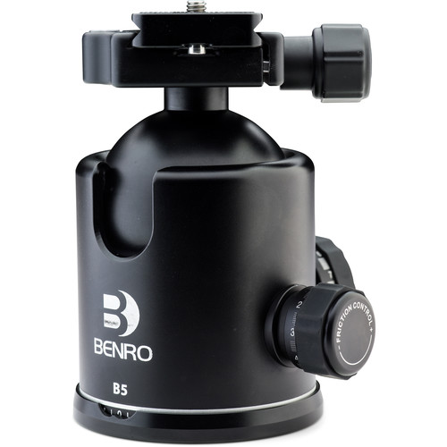 Benro B5 Triple Action Ball Head with PU85 Quick-Release Plate
