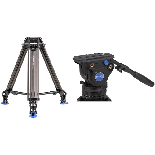 Benro BV6H Video Head with Carbon Fiber Legs Kit