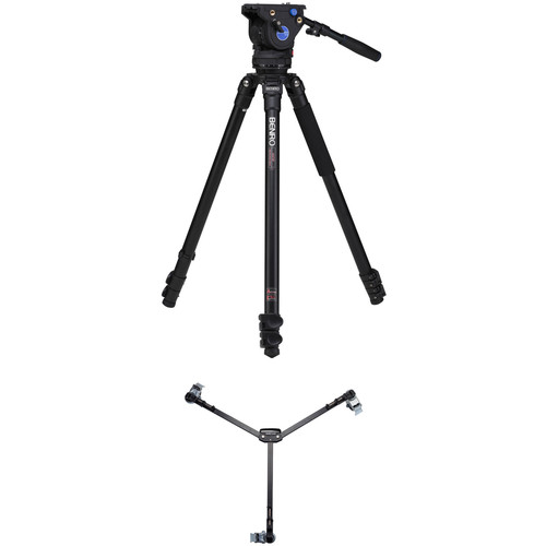 Benro BV6 Video Tripod Kit with A373F Legs & DL06 Tripod Dolly