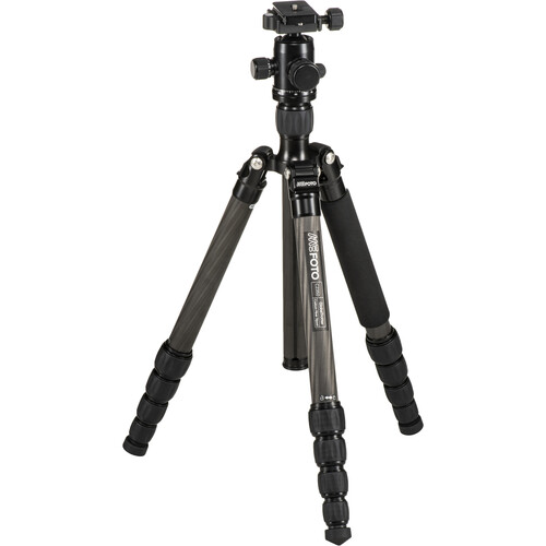 MeFOTO GlobeTrotter Carbon Fiber Travel Tripod Kit (Black)