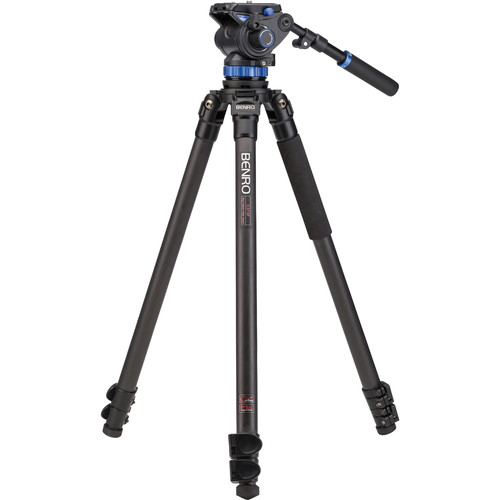 Benro S7 Video Tripod Kit with A373F Carbon Fiber Legs
