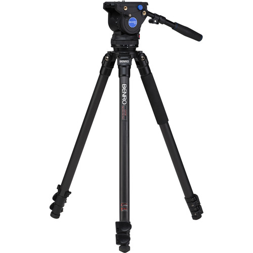 Benro C373F Series 3 Carbon Fiber Video Tripod and BV4 Head