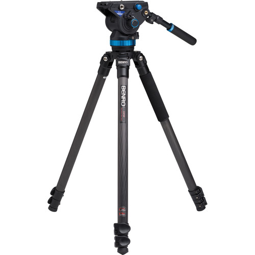 Benro S8 Pro Video Head and C3573F Series 3 CF Tripod with Deluxe Carry Case