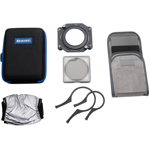 Benro Master Series 100mm Filter Kit with Accessories (72mm Mounting Ring)