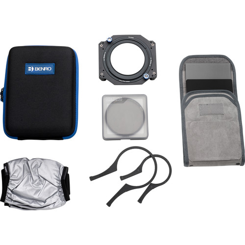 Benro Master Series 100mm Filter Kit with Accessories (77mm Mounting Ring)