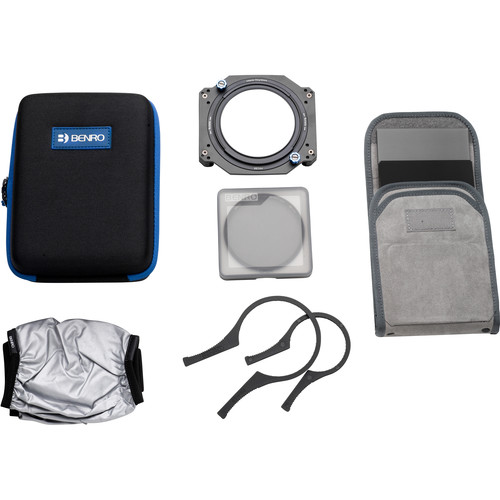 Benro Master Series 100mm Filter Kit with Accessories (82mm Mounting Ring)