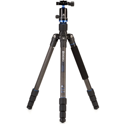 Benro FTA18CV0 Travel Angel Series 1 Carbon Fiber Tripod with V0E Ball Head
