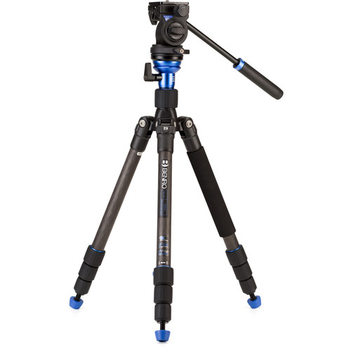 Benro HFTA18CS2H Hybrid Carbon Fiber Tripod with S2H Pan/Tilt Head