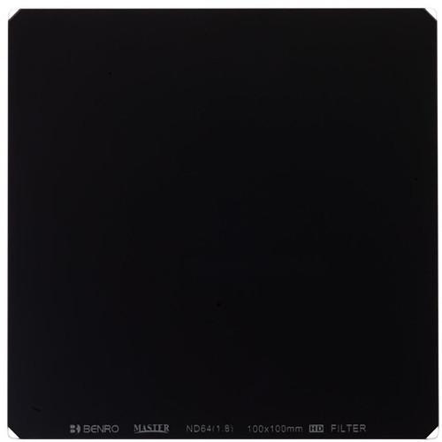 Benro 100 x 100mm Master Series ND 1.8 Filter (6-Stop)