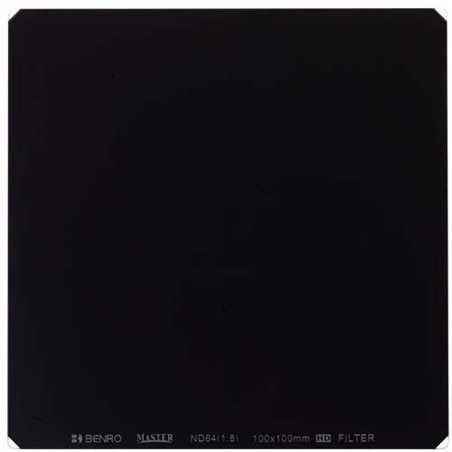 Benro 100 x 100mm Master Series Neutral Density 1.8 Filter (6 Stops)