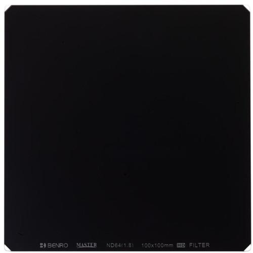 Benro 150 x 150mm Master Series ND 1.8 Filter (6-Stop)
