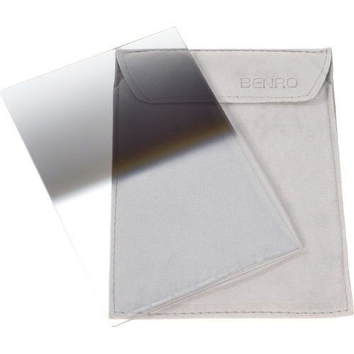 """Benro 4x6""""/100x150mm Reverse Graduated Neutral Density 3-Stop GND8 0.9 Filter"""
