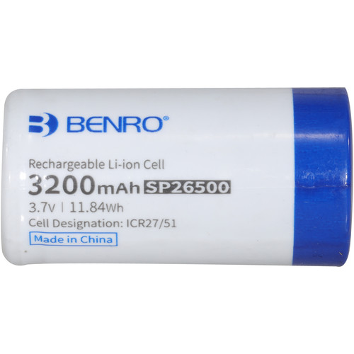 Benro Rechargeable SP26500 Battery for 3XM, 3XD, 3XD Pro Gimbals