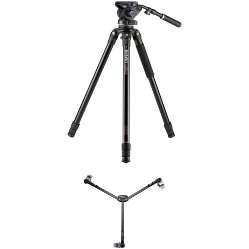 Benro S6 Video Tripod Kit with A373T Legs & DL06 Tripod Dolly