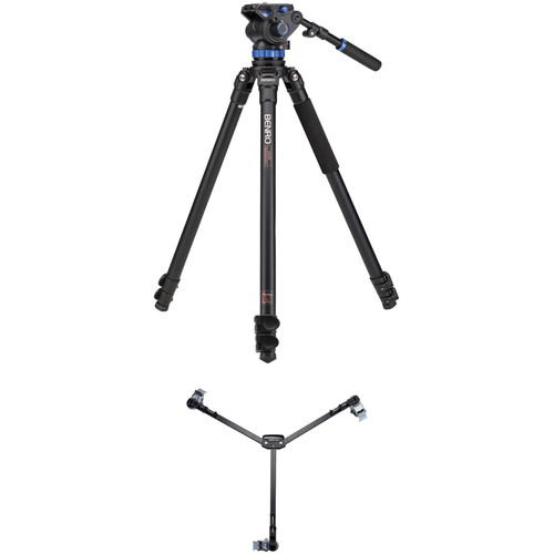 Benro S7 Video Tripod Kit with A373F Legs and DL06 Tripod Dolly