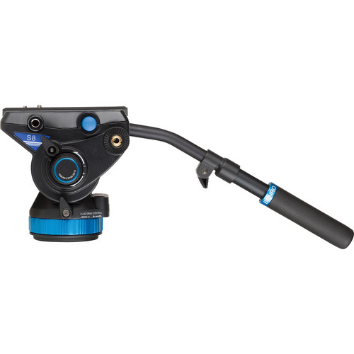 """Benro S8 Pro Video Head with Flat Base (3/8""""-16 Connection)"""