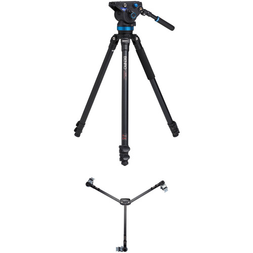 Benro S8 Video Tripod Kit with A373F Legs and DL06 Tripod Dolly