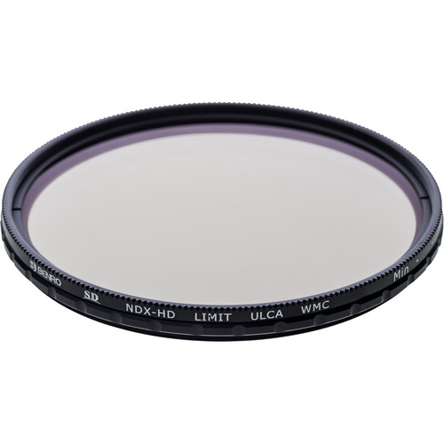 Benro 72mm SD NDX-HD LIMIT Variable Neutral Density Filter (1-7 Stop)
