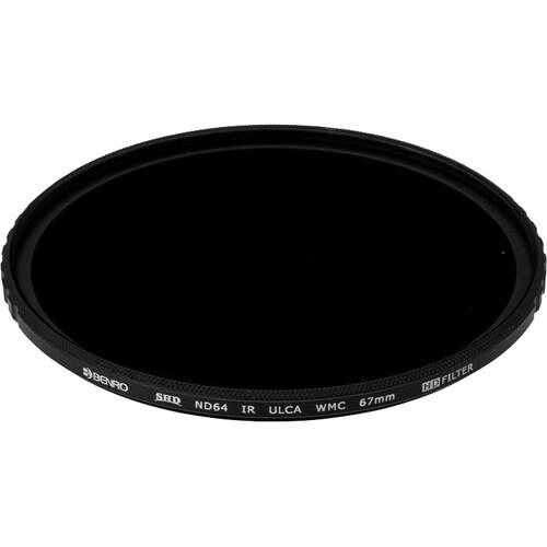 Benro 67mm Master Series Neutral Density 1.8 Filter (6 Stops)