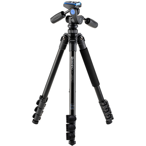 Benro Adventure Aluminum Tripod with HD1A Pan and Tilt Head