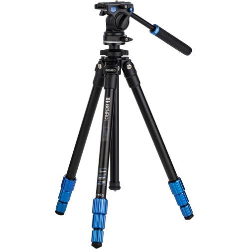 Benro SLIM Video Tripod Kit (Aluminum)