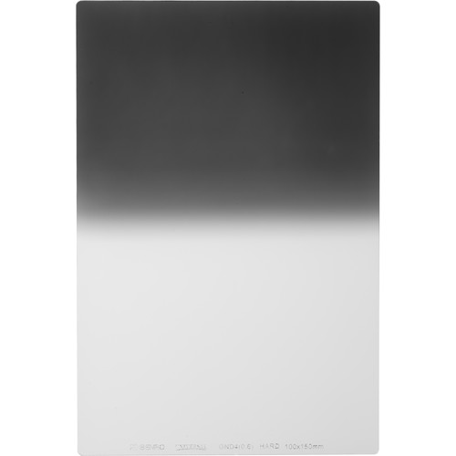 Benro 100 x 150mm Universal Series Hard-Edge Graduated Neutral Density 0.6 Filter (2-Stop)