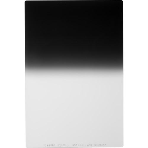 Benro 100 x 150mm Universal Series Hard-Edge Graduated Neutral Density 0.9 Filter (3-Stop)