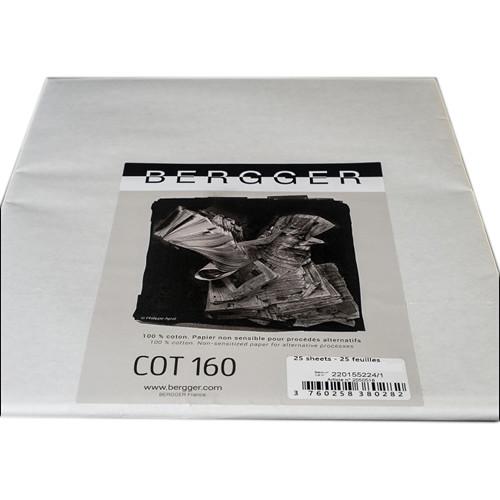 """Bergger COT 160 Paper (16 x 25"""", 25 Sheets)"""