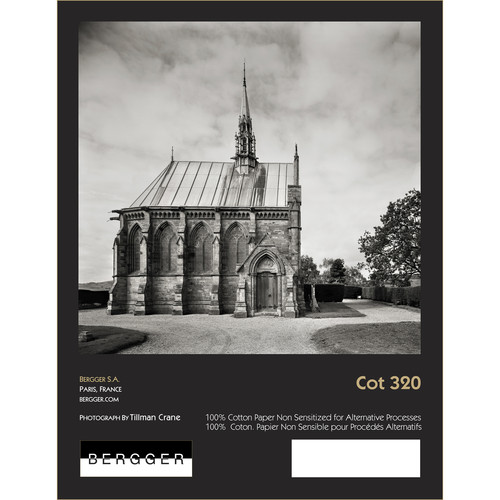 """Bergger 100% Cotton 320 Uncoated Paper (20"""" x 30"""", 25 Sheets)"""