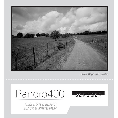 "Bergger Pancro 400 Black and White Negative Film (4 x 5"", 25 Sheets)"