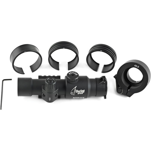 Bering Optics Night Probe 2nd Gen Night Vision Clip-On Kit (42-58mm Objectives)