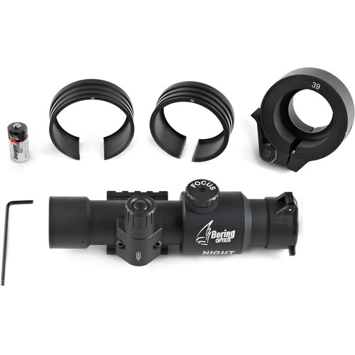 Bering Optics Night Probe 2nd Gen Night Vision Clip-On Kit (BE80410 Tactical Side Mount)