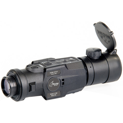 Bering Optics BEAST-C 336x256 1x Thermal Clip-On Attachment (30 Hz, Matte Black)
