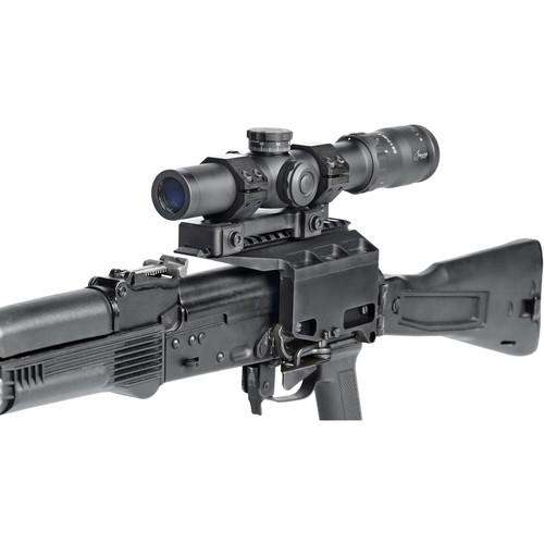 Bering Optics 1-7x24 RATR Tactical Riflescope (TMR Illuminated Reticle, Matte Black)
