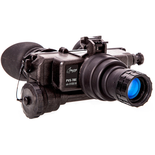 Bering Optics PVS-7BE 1x22 2nd Gen White Phosphor Night Vision Bi-Ocular & Headgear Kit