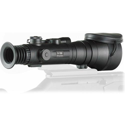 Bering Optics D-760 6x83 High-Performance Night Vision Riflescope (2nd Gen Autogated White Phosphor Tube, Red-White Mil-Dot)