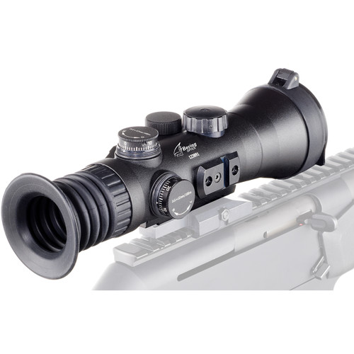 Bering Optics 3.7x53 D-730UW Elite High-Quality 3rd Gen White Phosphor Filmless Night Vision Sight (Red Mil-Dot Reticle, Matte Black)