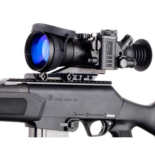 Bering Optics 4x66 D-750 Elite High-Quality 3rd Gen Night Vision Riflescope (Filmless, White Phosphor, Red-Yellow Mil-Dot Reticle)