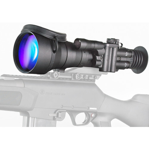 Bering Optics D-760 6x83 High-Quality 3rd-Gen Night Vision Riflescope (Filmless, White Phosphor, Red-Green Mil-Dot Reticle)