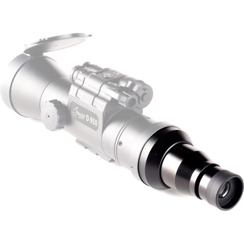 Bering Optics 2x Eyepiece Adapter for D-950 Clip-On Riflescope (Matte Black)