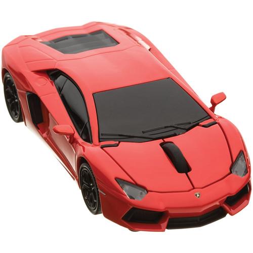 Automouse Lamborghini Aventador 2.4 GHz Wireless Mouse (Orange)
