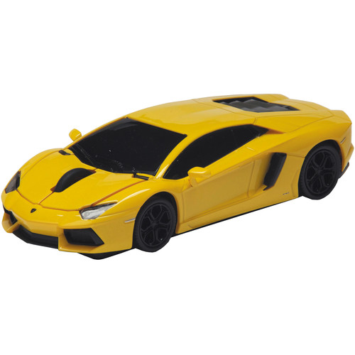 Automouse Lamborghini Aventador 2.4 GHz Wireless Mouse (Yellow)