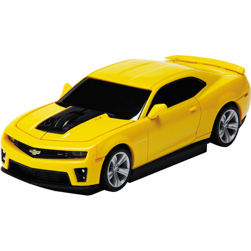 Automouse Chevrolet Camaro ZL 1 2.4 GHz Wireless Mouse (Yellow)