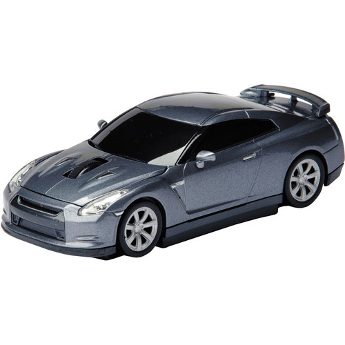 Automouse Nissan GT-R (R35) 2.4 GHz Wireless Mouse (Gray)