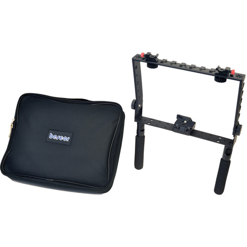 Bescor Square Frame Mounting Bracket with Case