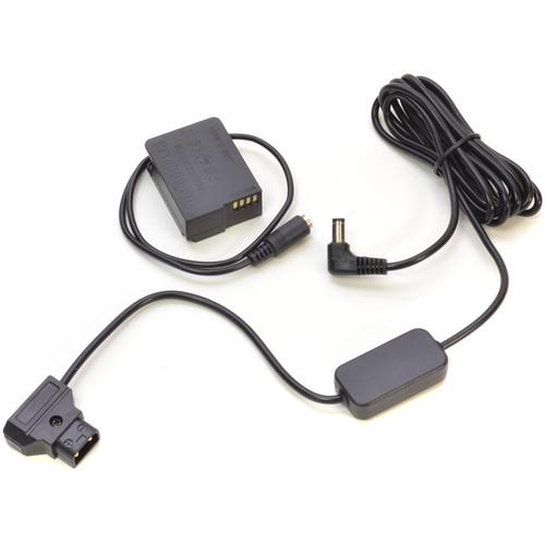 Bescor Panasonic Lumix & Sigma fp DMW-BLC12 Coupler & D-Tap 8V Drop Down Adapter Kit