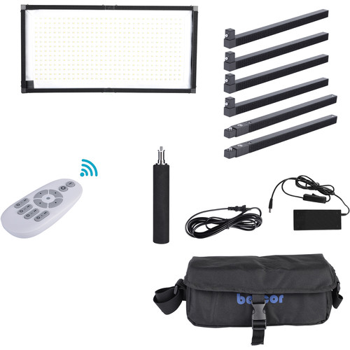 Bescor FM448 Flexible Remote-Controlled Bi-Color LED Light Mat
