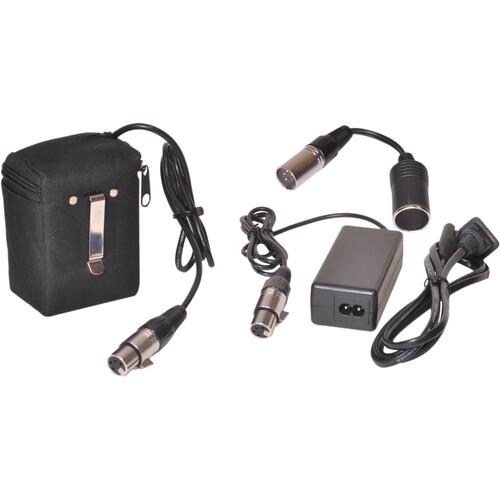 Bescor 12V Lithium-Ion Belt-Clip Battery & Charger Kit