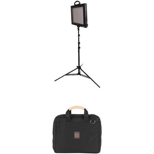 Bescor FP-500S Bi-Color LED Light Kit with Case