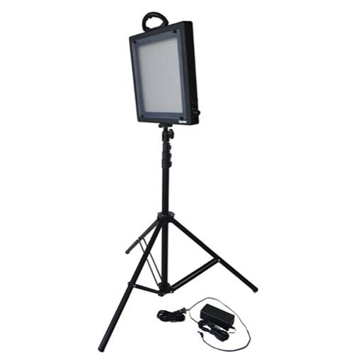 Bescor FP-500S Studio Daylight LED Light Kit with Case